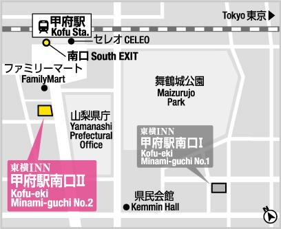 甲府 2 inn 東横 駅 南口